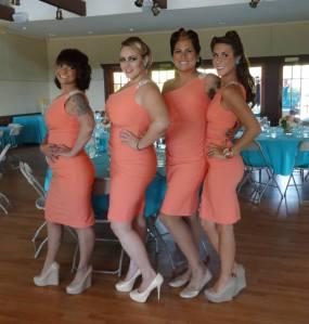 Bridesmaids Pre Ceremony